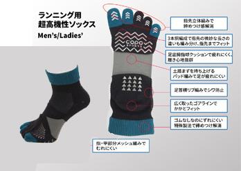 【靴下専門店 コポ】 COPO SPORTSシリーズの登場です!の写真